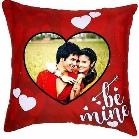 Be Mine Photo Cushion