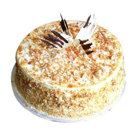 Loaded Butterscotch Cake