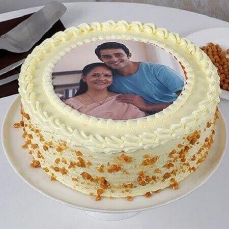 Photo Butterscotch Cake