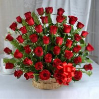 Big Love Flowers Basket