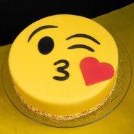 Emoji Wala Cake