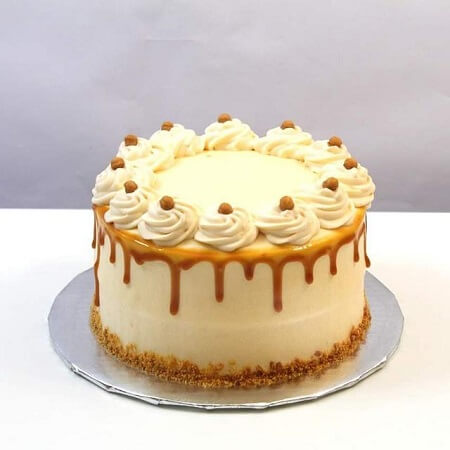 Butterscotch Creamy Cake