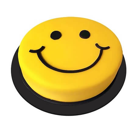 Emoji Smiley Cake