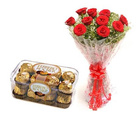 Roses N Rocher Chocolates