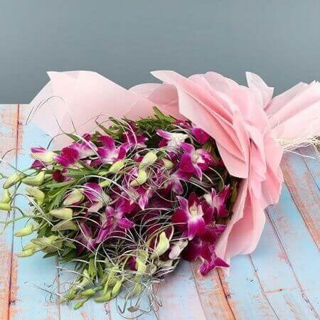 Orchids Beauty in Bouquet