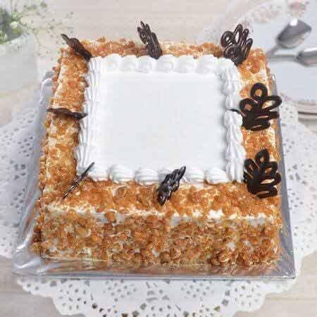 Butterscotch Square Cake
