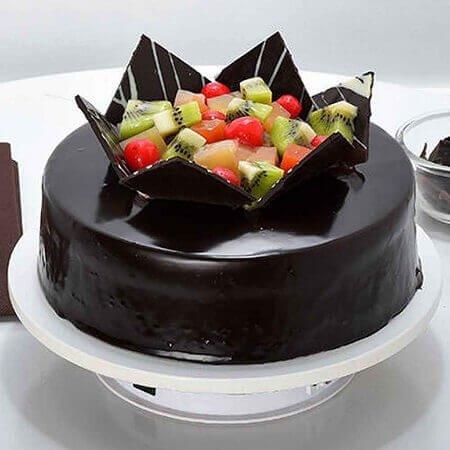 Choco Fruity Cake