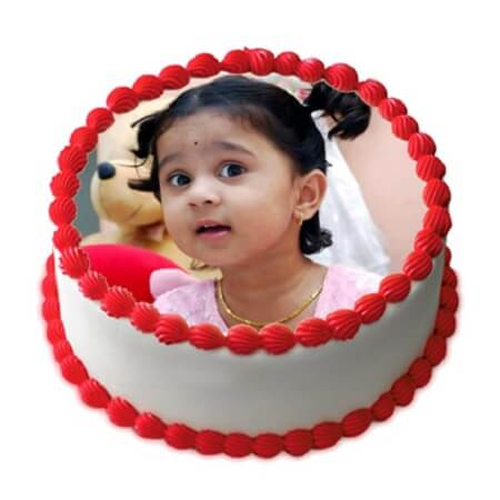 Photo Kids Cake