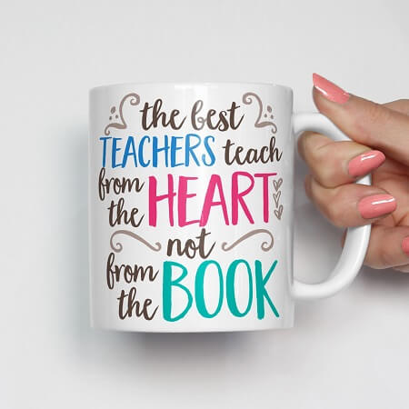 Teachers Day Quote Mug