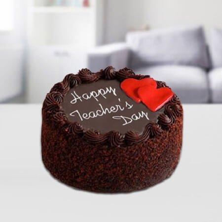 Teachers Day Choco Cake