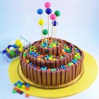 KitKat Gems Tier Cake