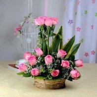 Premium Pink Basket
