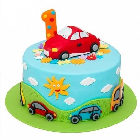 1st Birthday Kids Cake