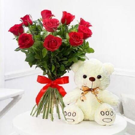 Roses & Teddy