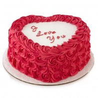Love Heart Shaped Cake