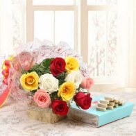 Flowers N Kaju Barfi