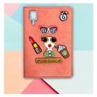 Glam Girl Passport Cover