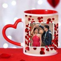 Photo Heart Mug