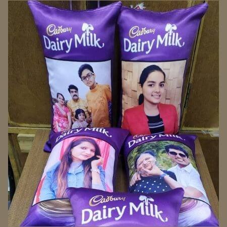 Dairy Milk Photo Cushion