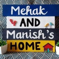 Colored Name Plate