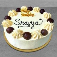 Vanilla Gulab Jamun Cake