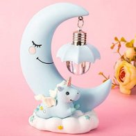 Unicorn Moon LED Lamp