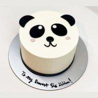 Panda Fondant Cake