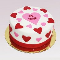 Be Mine Anniversary Cake