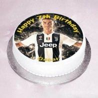 Ronaldo Theme Cake