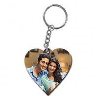 Heart Photo Key Chain