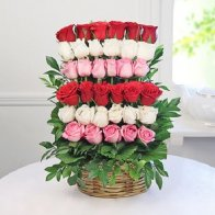 Roses Basket Smile